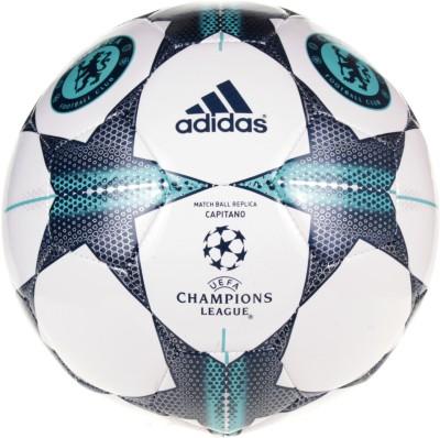 Adidas Chelsea FC Capitano UEFA Champions League Football -   Size: 5,  Diameter: 22.5 cm