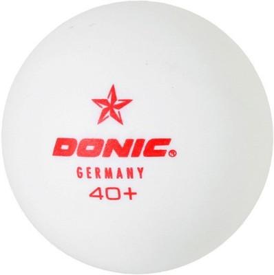 Donic 1 Star Ping Pong Ball -   Size: 3,  Diameter: 3.9 cm