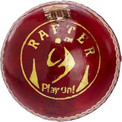 SM Rafter Cricket Ball - Size: 2.5, Diameter: 2.5 cm(Pack of 1, Red)