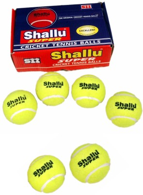 SII Shallu Super Cricket Ball - Size- 6, Diameter- 22 cm
