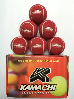 KAMACHI CRICKET AND TENNIS BALL Cricket Ball -   Size: 3,  Diameter: 6.5 cm