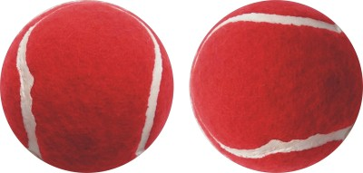 J&JC HATRIICK ( 2 PCS) Tennis Ball Tennis Ball -   Size: 6.5,  Diameter: 6.5 cm(Pack of 2, Red)