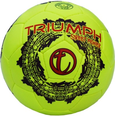 Triumph Street Fighter Lime Football -   Size: 5,  Diameter: 2.5 cm