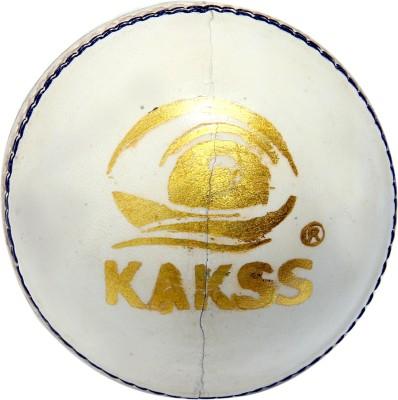 Kakss leather Cricket Ball -   Size: Full Size,  Diameter: 21 cm