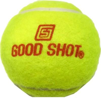 GOOD SHOT Light Cricket Tennis Ball -   Size: 6,  Diameter: 6.6 cm