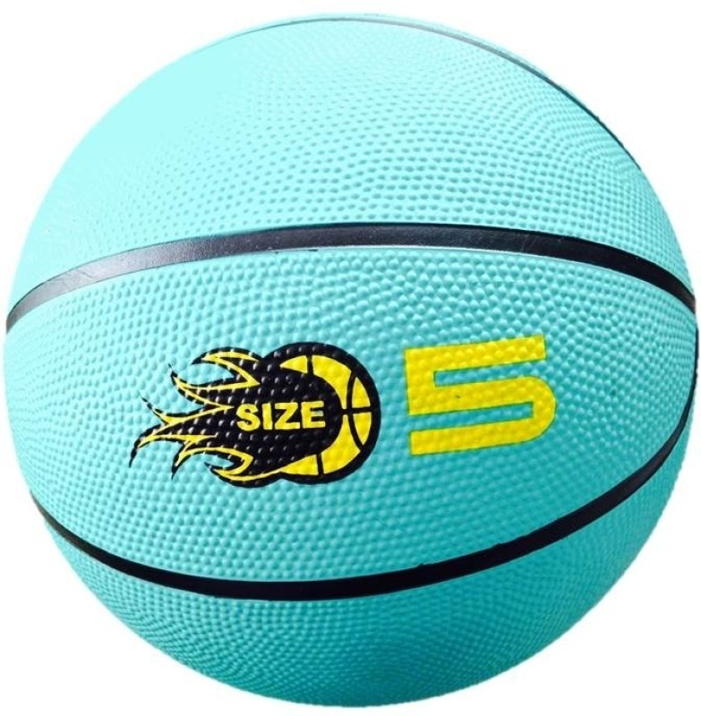 Jaspo Dragon Basketball -   Size: 5,  Diameter: 21.59 cm(Pack of 1, Green)