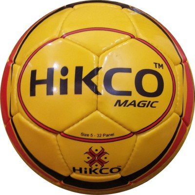 Hikco Magic Football - Size: 5, Diameter: 22 cm(Pack of 1, Multicolor)