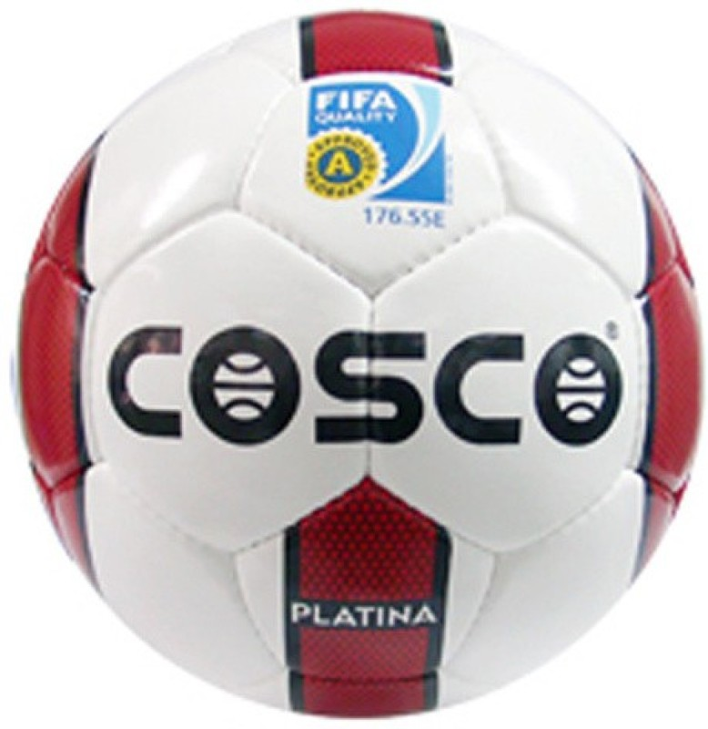 Cosco Platina - 5 Football - Size: 5(Pack of 1,...