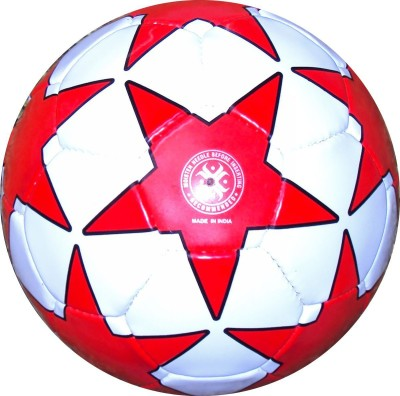 Hikco Star Red Football -   Size: 5,  Diameter: 24 cm