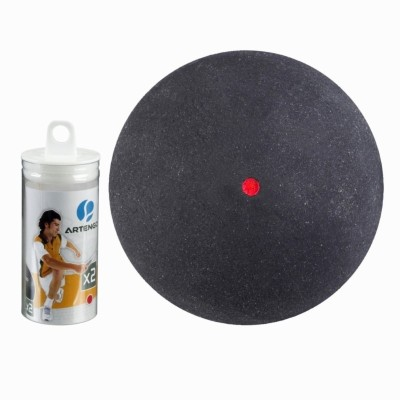 Artengo Dot X2 Squash Ball -   Size: 6.5,  Diameter: 6.5 cm