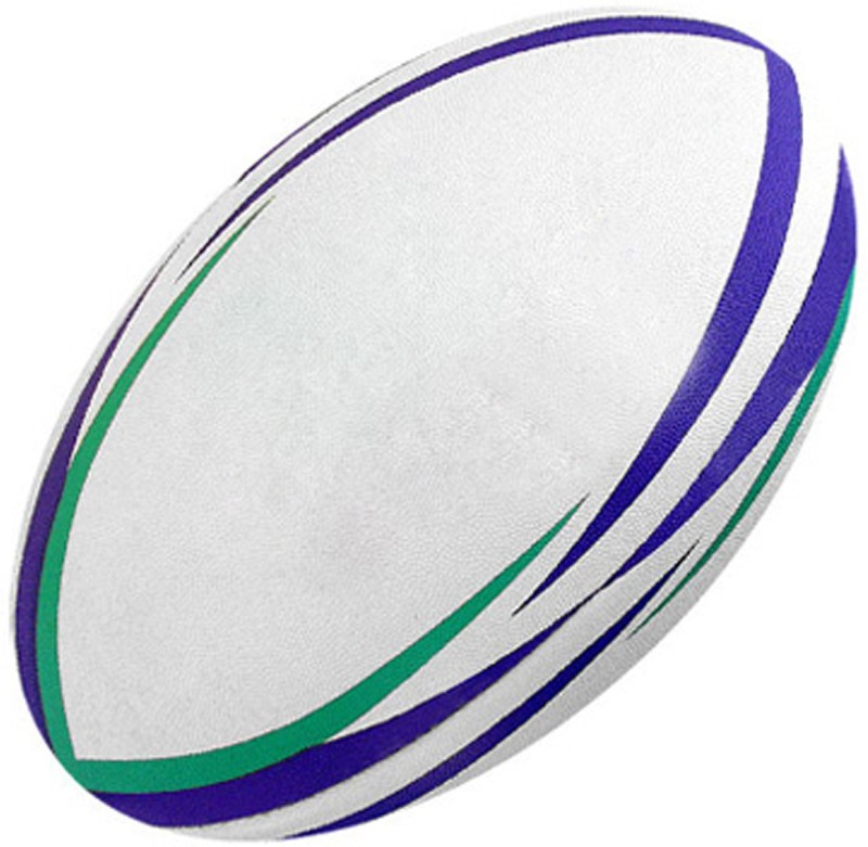 monika sports moni Rugby Ball -   Size: 5,  Diameter: 19 cm(Pack of 1, Multicolor)
