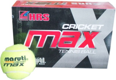 HRS Maruti Cricket Maxx Cricket Ball -   Size: Full,  Diameter: 6.4 cm
