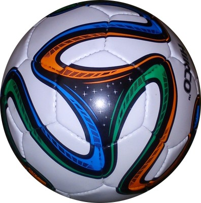 Hikco WC Football Football -   Size: 5,  Diameter: 22 cm