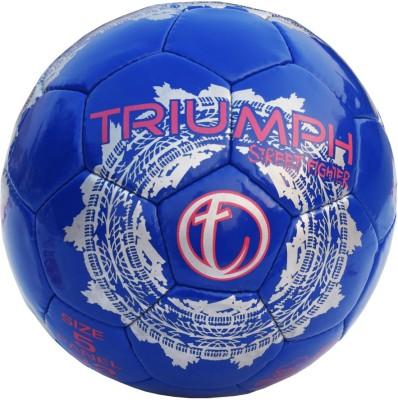 Triumph Street Fighter Blue Football -   Size: 5,  Diameter: 22 cm