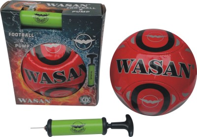 Wasan 2 Piece Football Kit Football - Size: 5, Diameter: 70 cm(Pack of 2, Multicolor)