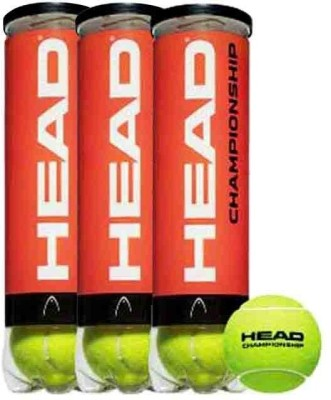 Head Championship Tennis Ball - Size- 7, Diameter- 6.7 cm