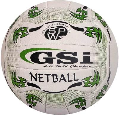 GSI Sports training Netball -   Size: Standard,  Diameter: 22 cm(Pack of 1, White)