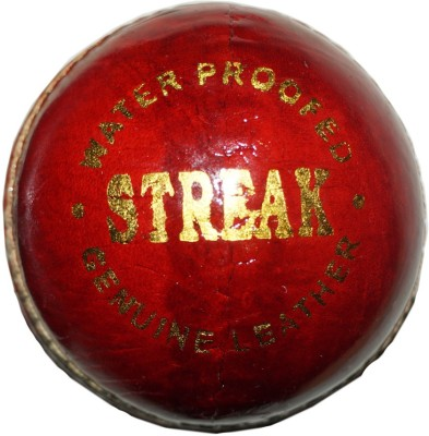 Muren Streak Soft Leather Cricket Ball -   Size: 3