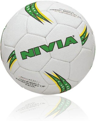 Nivia Synthetic Men Handball -   Size: 5,  Diameter: 2.5 cm(Pack of 1, White)
