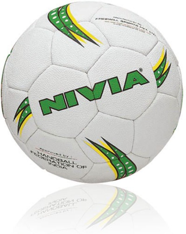 Nivia Synthetic Women Handball -   Size: 4,  Diameter: 2.5 cm(Pack of 1, White)