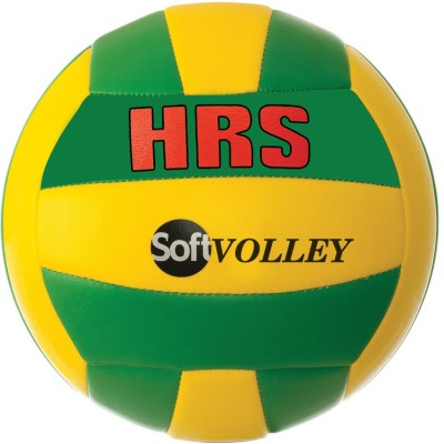 HRS Soft Volley Volleyball -   Size: Full,  Diameter: 21 cm