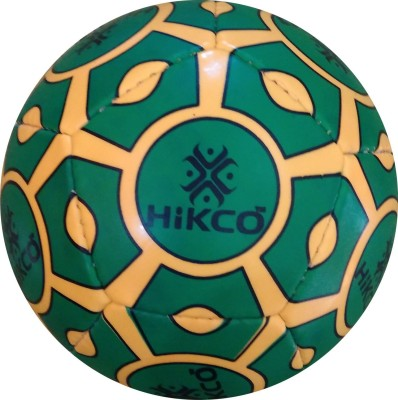 Hikco Mini-12 Panel Green Football - Size: 1, Diameter: 15 cm(Pack of 1, Multicolor)