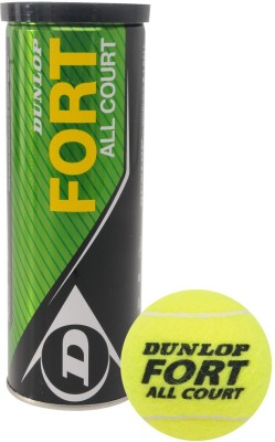 Dunlop Fort Tennis Ball - Size- 0, Diameter- 2.5 cm