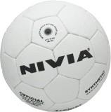 Nivia Trainer Handball (White, Black)