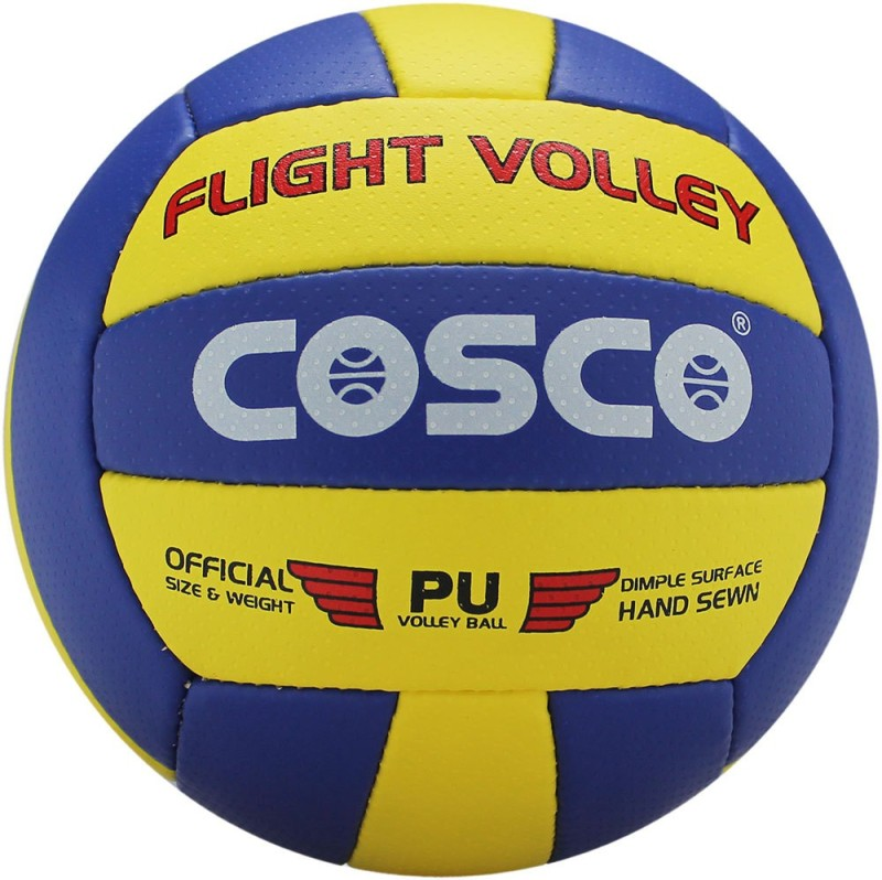 Cosco Flight Volleyball -   Size: 4,  Diameter: 6.5 cm(Pack of 1, Assorted)