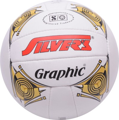 Silver,s Graphic Volleyball -   Size: 4