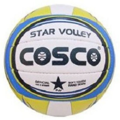 Cosco Star Volleyball - Size- 4, Diameter- 20.7 cm
