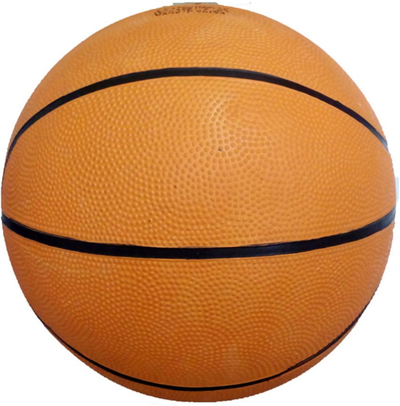 Hrinkar Official Basketball -   Size: 7,  Diameter: 50 CM(Pack of 1, Orange)