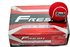 Megaplay Fresh Heavy Cricket Ball -   Size: Standard,  Diameter: 6.5 cm