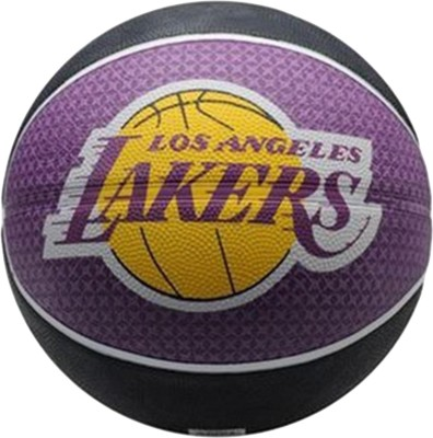 Spalding Los Angles Lakers Basketball -   Size: 7,  Diameter: 9.5 cm