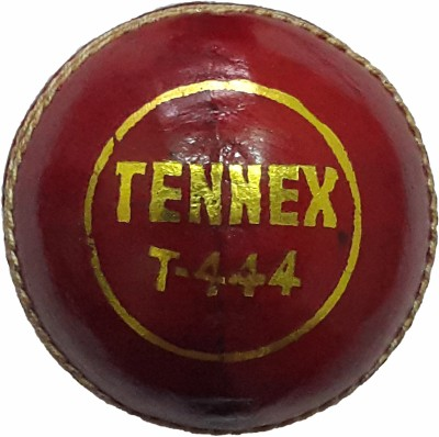 Tennex Leather T-444 Cricket Ball -   Size: Standard,  Diameter: 7 cm