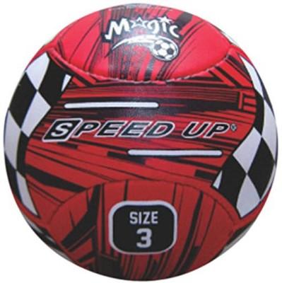 Speed Up Magic Leatherite Football -   Size: 3,  Diameter: 25 cm