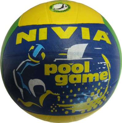 Nivia Rubber Molded Volleyball -   Size: 4