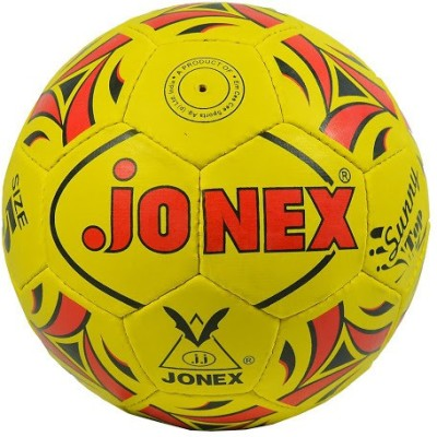 Jonex Sunny Top Football - Size: 5(Pack of 1, Yellow, Red)