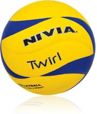 Nivia Twirl Volleyball - Size- 4, Diameter- 2.5 cm