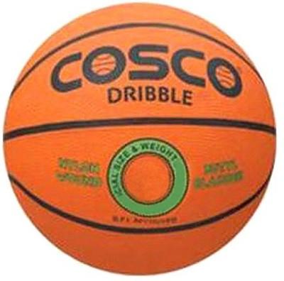 Cosco Dribble Basketball - Size- 7, Diameter- 8 cm