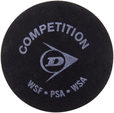 Dunlop Single Dot Squash Ball -   Size: 2,  Diameter: 1.5 cm