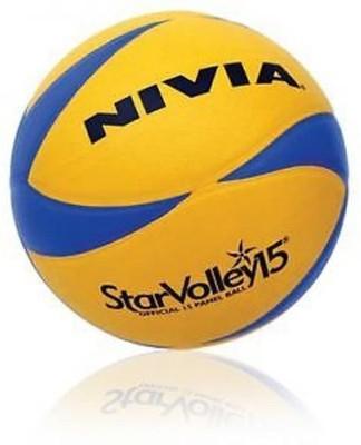 Nivia StarVolley15 Volleyball -   Size: 4,  Diameter: 2.5 cm