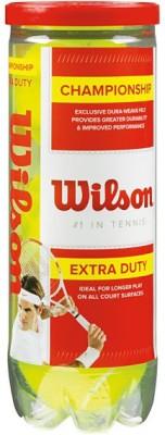 Wilson Championship Extra Duty Tennis Ball -   Size: Standard,  Diameter: 1 cm