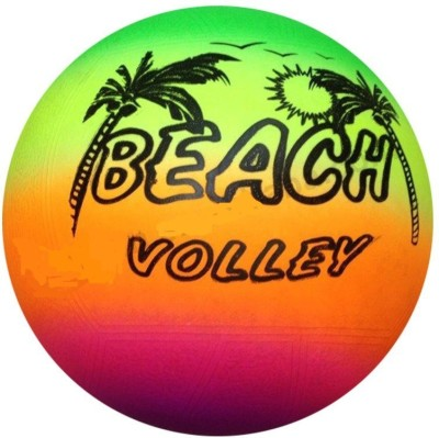 Sapphire SA Beach Ball Volleyball - Size- 5, Diameter- 5 cm(Pack of 1, Multicolor)