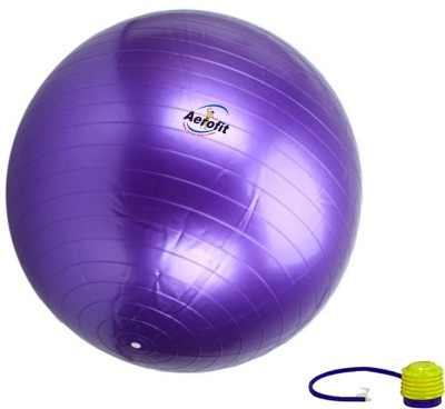 Aerofit Anti Burst Gym Ball -   Size: 85 cm,  Diameter: 85 cm(Pack of 1, Multicolor)