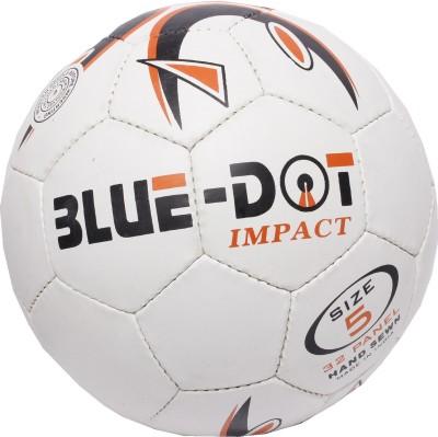 Blue Dot Impact Football -   Size: 5,  Diameter: 21 cm