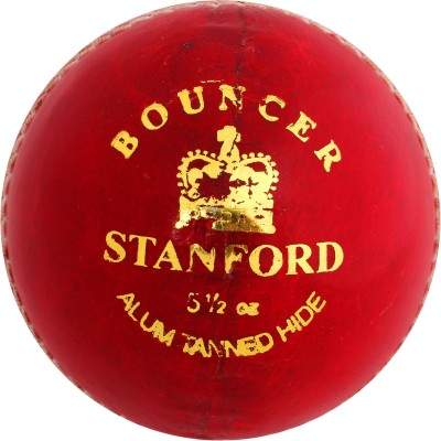 SF Bouncer Leather Cricket Ball -   Size: 5.1/2,  Diameter: 1.5 cm
