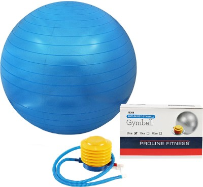 Proline Gym Ball Gym Ball - Diameter: 65 cm(Pack of 1, Blue)
