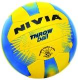 Nivia Plain Throw Ball -   Size: 5 (Blue...