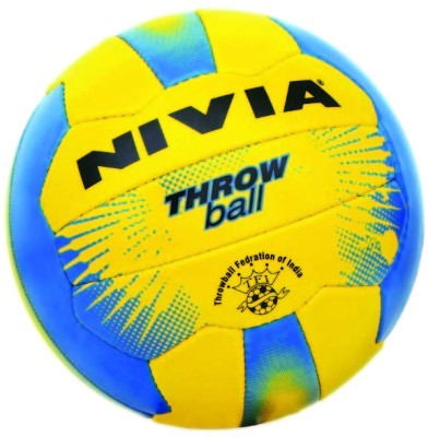 Nivia Plain Throw Ball -   Size: 5(Blue, Yellow)